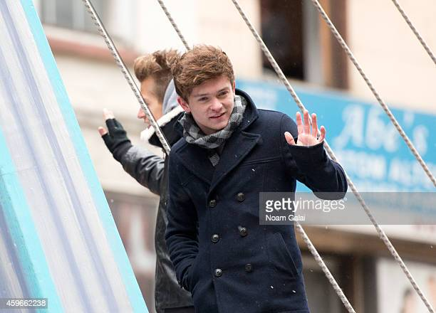 Musician Connor Ball of The Vamps attends the 88th Annual Macys Thanksgiving Day Parade at on November 27 2014 in New York New York