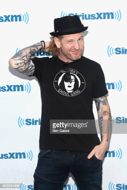 Musician Corey Taylor visits at SiriusXM Studios on August 10 2017 in New York City
