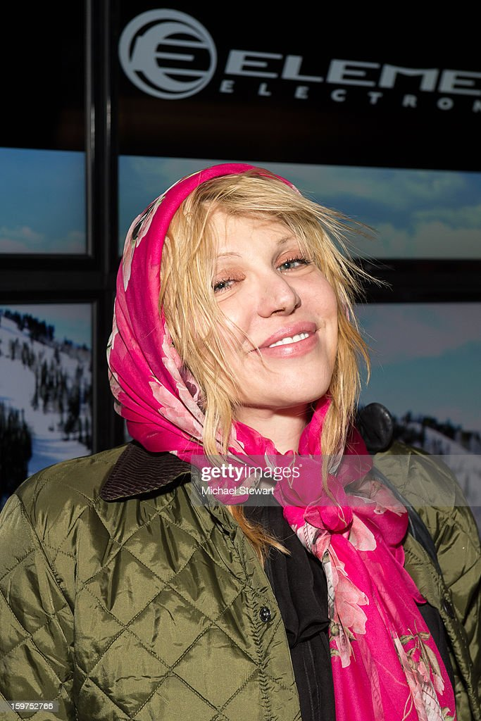 Musician Courtney Love attends Oakley Learn To Ride In Collaboration With New Era on January 19, 2013 in Park City, Utah.