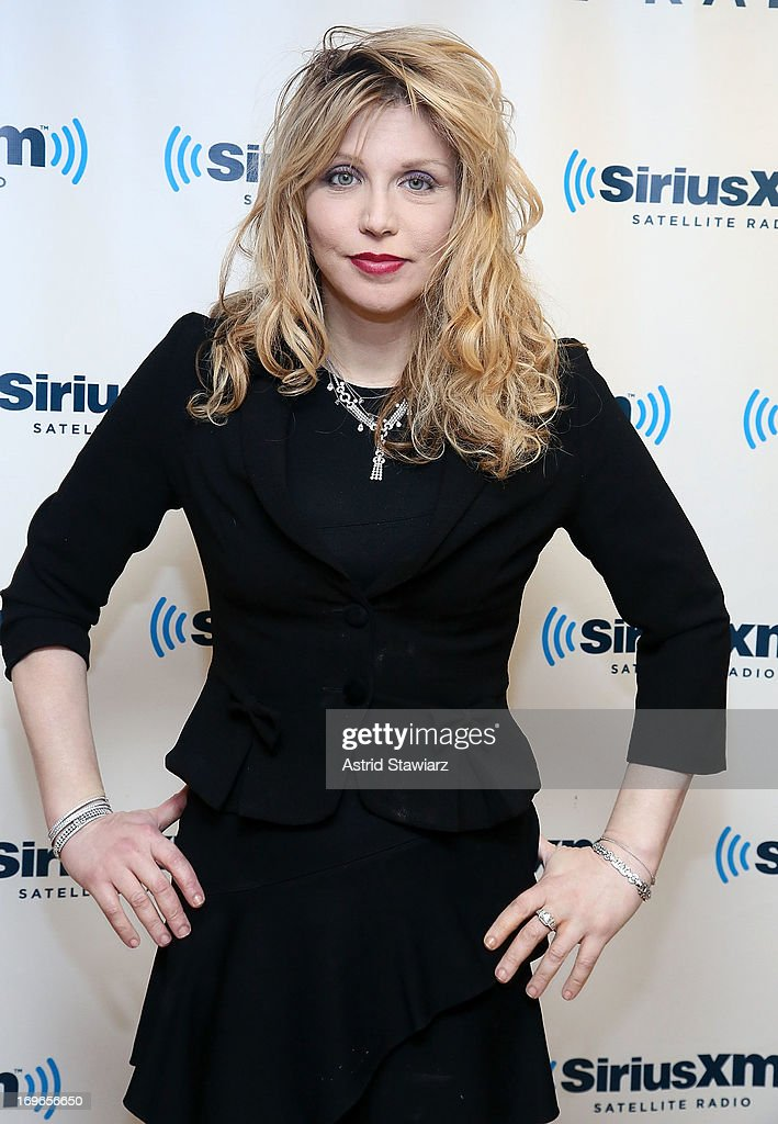Musician <a gi-track='captionPersonalityLinkClicked' href=/galleries/search?phrase=Courtney+Love&family=editorial&specificpeople=156418 ng-click='$event.stopPropagation()'>Courtney Love</a> visits the SiriusXM Studios on May 30, 2013 in New York City.