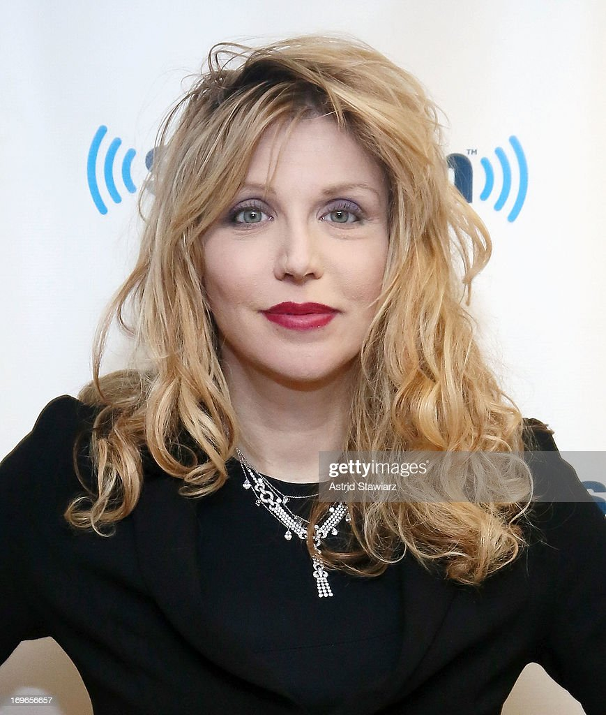 Musician Courtney Love visits the SiriusXM Studios on May 30, 2013 in New York City.