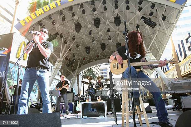 Musician Craig Morgan performs onstage during day two of the Academy of Country Music All Star Concert at the Fremont Street Experience on May 13...