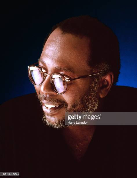 Musician Curtis Mayfield poses for a portrait in 1981 in Los Angeles California