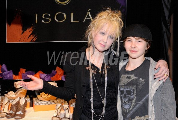 Musician Cyndi Lauper And Declyn Wallace Thornton Lauper Attend The Wireimage 109100554 Soon they welcomed their one and only baby, son declyn wallace thornton. 2