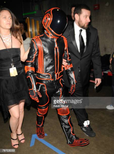 LOS ANGELES CA FEBRUARY 10 Musician Daft Punk at the 50th Annual GRAMMY Awards at the Staples Center on February 10 2008 in Los Angeles California...