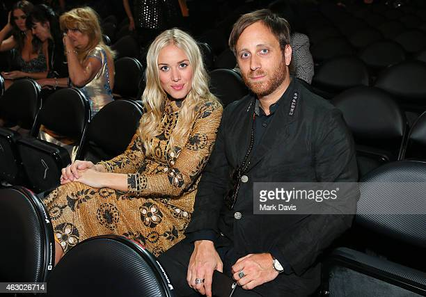 Musician Dan Auerbach of The Black Keys and Jen Goodall attend The 57th Annual GRAMMY Awards at STAPLES Center on February 8 2015 in Los Angeles...