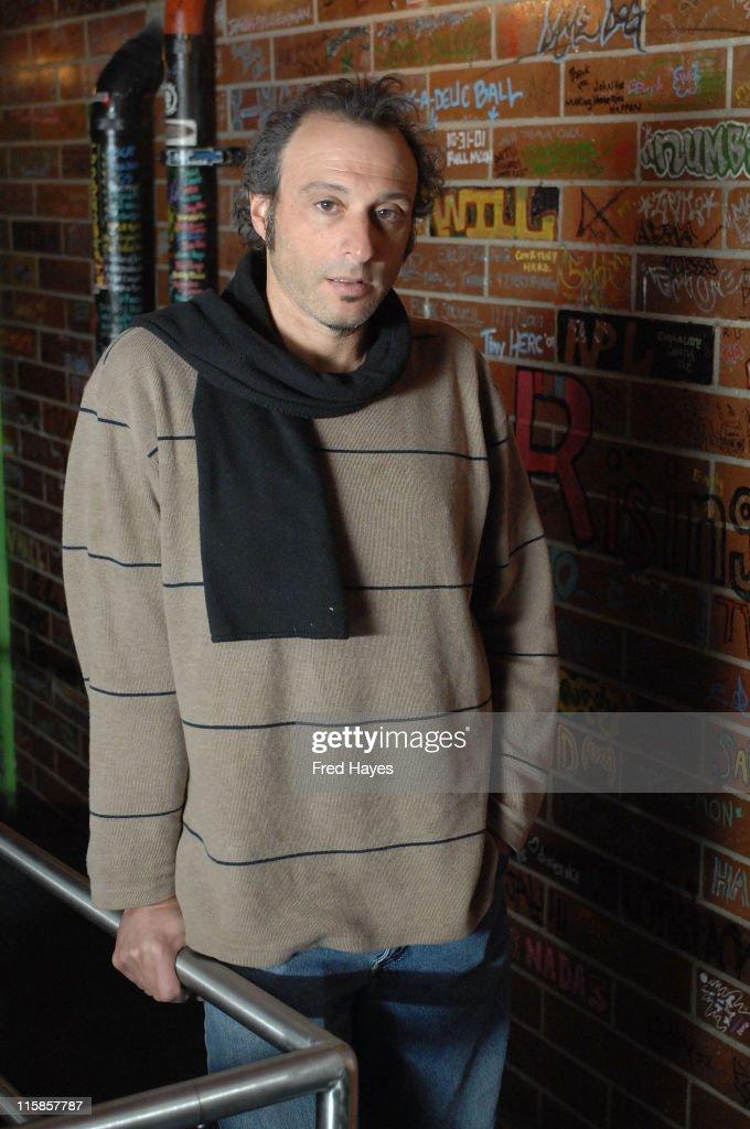 Musician Dan Bern attends the Music Cafe during the 2008 Sundance Film Festival on January 25 2008 in Park City Utah