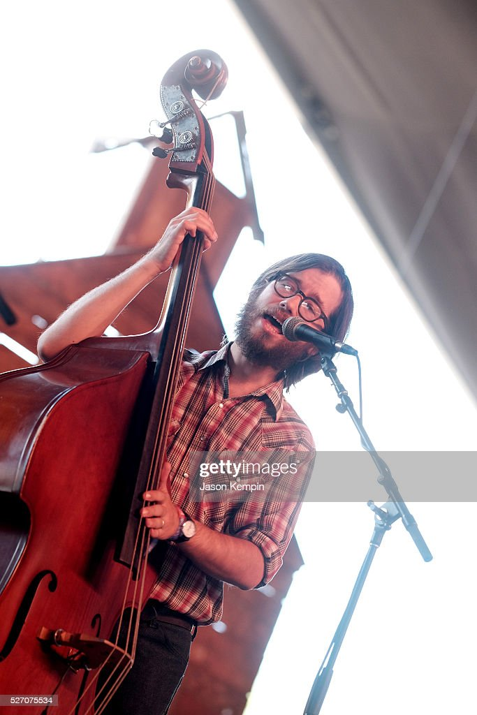 Musician Dan Cutler of The Deslondes performs onstage during 2016 Stagecoach California's Country Music Festival at Empire Polo Club on May 01, 2016 in Indio, California.