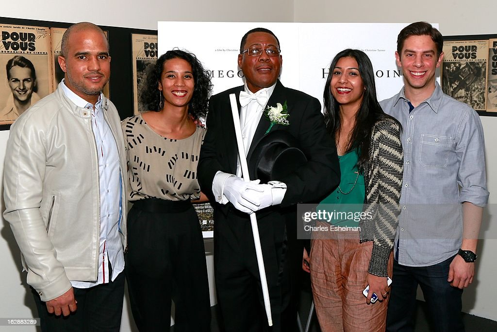 Musician Daniel Bernard Roumain, director Christine Turner, Funeral director Isaiah Owens, editor Sonejuhi Sinha and cinematographer Marshall Stief attend the 'Homegoings' premiere at The Museum of Modern Art on February 28, 2013 in New York City.