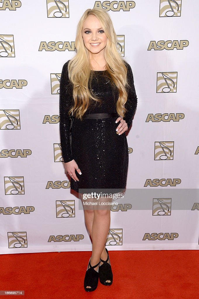 Musician <a gi-track='captionPersonalityLinkClicked' href=/galleries/search?phrase=Danielle+Bradbery&family=editorial&specificpeople=10618841 ng-click='$event.stopPropagation()'>Danielle Bradbery</a> attends the 51st annual ASCAP Country Music Awards at Music City Center on November 4, 2013 in Nashville, Tennessee.