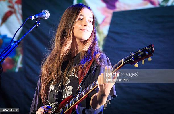 Musician Danielle Haim of the band HAIM performs onstage during The 1989 World Tour Live In Los Angeles at Staples Center at Staples Center on August...