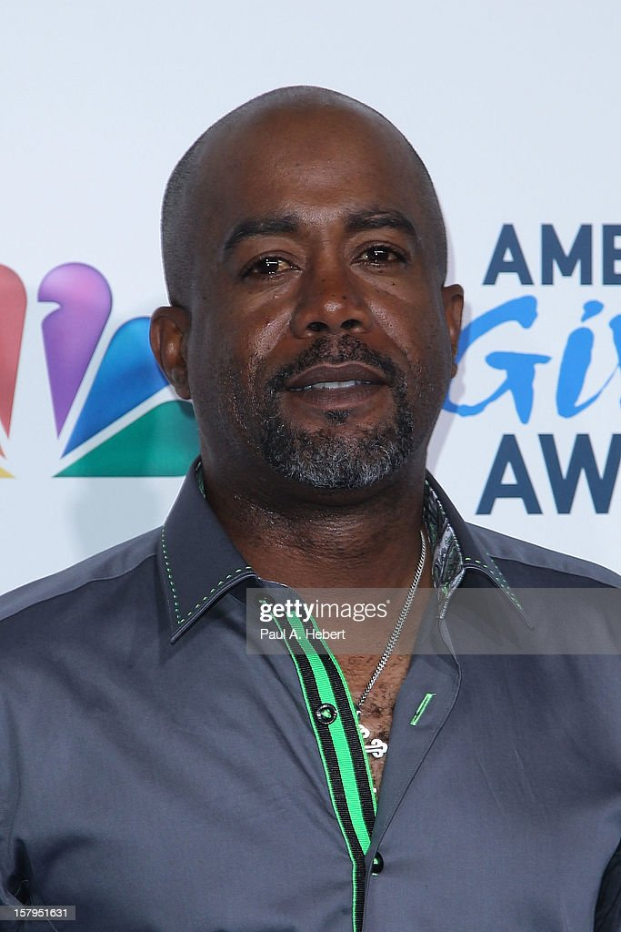 Musician Darius Rucker arrives at the 2nd Annual American Giving Awards presented by Chase held at the Pasadena Civic Auditorium on December 7, 2012 in Pasadena, California.