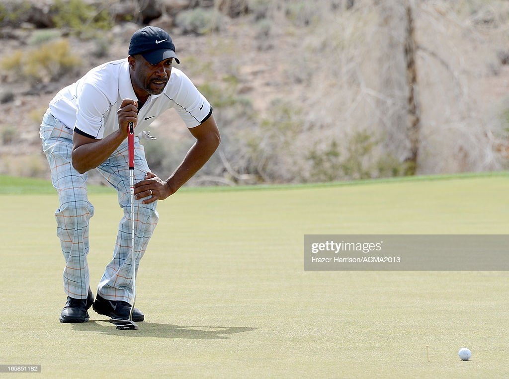 Musician Darius Rucker attends the ACM Lifting Lives Celebrity Golf Classic during the 48th Annual Academy of Country Music Awards at TPC Summerlin on April 6, 2013 in Las Vegas, Nevada.