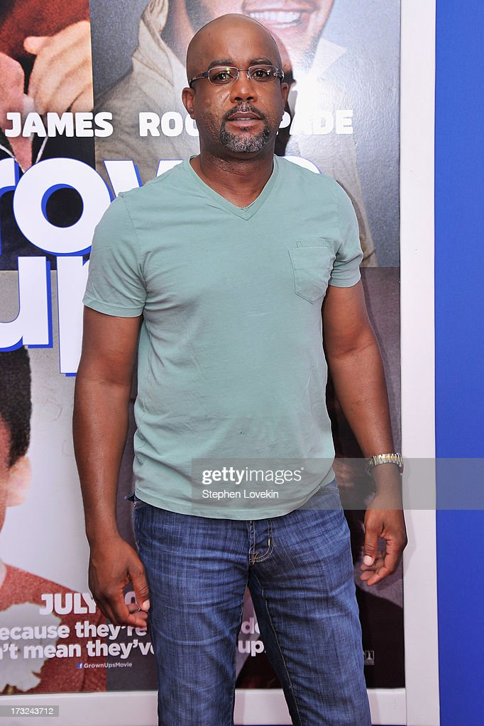 Musician <a gi-track='captionPersonalityLinkClicked' href=/galleries/search?phrase=Darius+Rucker&family=editorial&specificpeople=215161 ng-click='$event.stopPropagation()'>Darius Rucker</a> attends the 'Grown Ups 2' New York Premiere at AMC Lincoln Square Theater on July 10, 2013 in New York City.