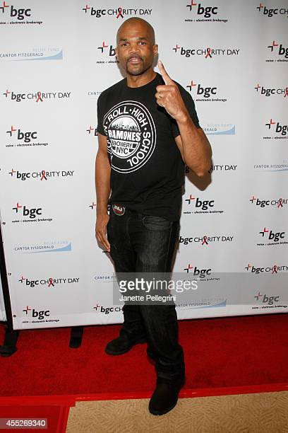 Musician Darryl 'DMC' McDaniels attends Annual Charity Day Hosted By Cantor Fitzgerald And BGC at BGC Partners INC on September 11 2014 in New York...