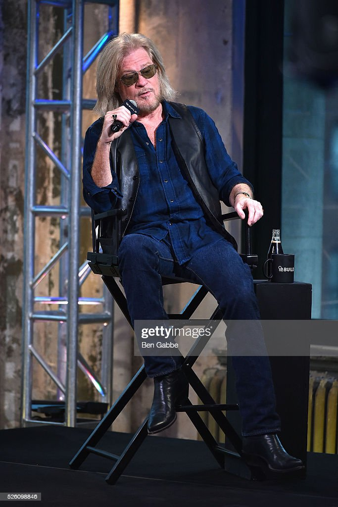 Musician Daryll Hall speaks during AOL Build Speaker series at AOL Studios on April 29, 2016 in New York, New York.