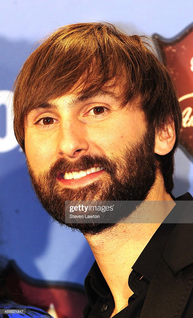 Musician <a gi-track='captionPersonalityLinkClicked' href=/galleries/search?phrase=Dave+Haywood&family=editorial&specificpeople=4620526 ng-click='$event.stopPropagation()'>Dave Haywood</a> of Lady Antebellum poses in th press room during the American Country Awards 2013 at the Mandalay Bay Events Center on December 10, 2013 in Las Vegas, Nevada.