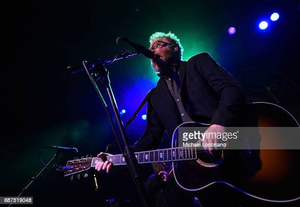 Musician Dave King of Flogging Molly performs at Irving Plaza on May 23 2017 in New York City