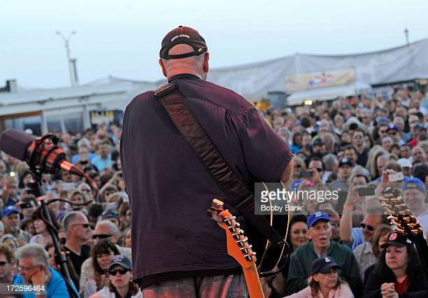 Musician Dave Mason performs at The Stone Pony Summer Stage on July 3 2013 in Asbury Park New Jersey