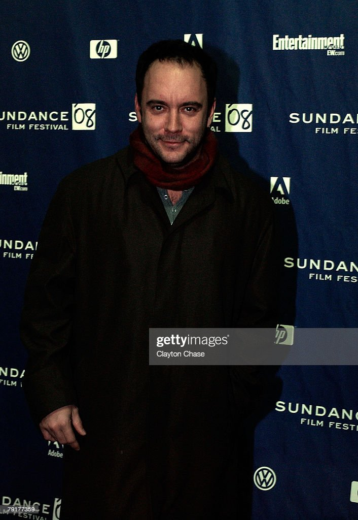 Musician Dave Matthews attends a screening of 'Choke' at the Racquet Club Theatre during 2008 Sundance Film Festival on January 21, 2008 in Park City, Utah.