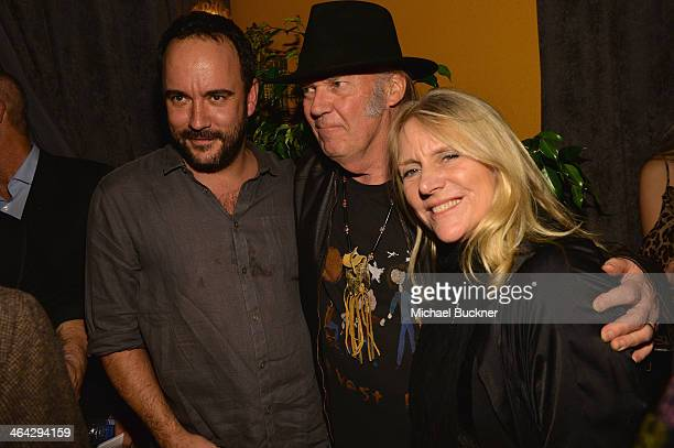 Musician Dave Matthews Neil Young and Pegi Young attends The Recording Academy Producers Engineers Wing Presents 7th Annual GRAMMY Week Event...