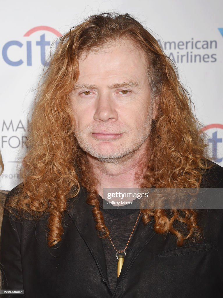 Musician Dave Mustaine arrives at the Universal Music Group's 2017 GRAMMY After Party at The Theatre at Ace Hotel on February 12, 2017 in Los Angeles, California.