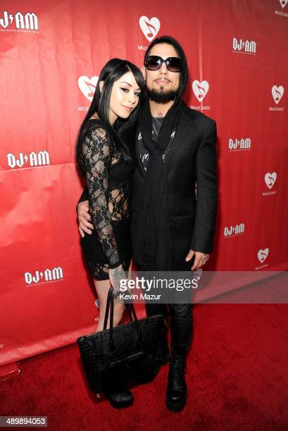Musician Dave Navarro and guest attend the 10th annual MusiCares MAP Fund Benefit Concert to raise funds for MusiCares' addiction recovery resources...