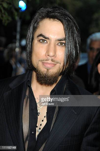 Musician Dave Navarro arrives at Spike TV's Scream 2009 held at the Greek Theatre on October 17 2009 in Los Angeles California