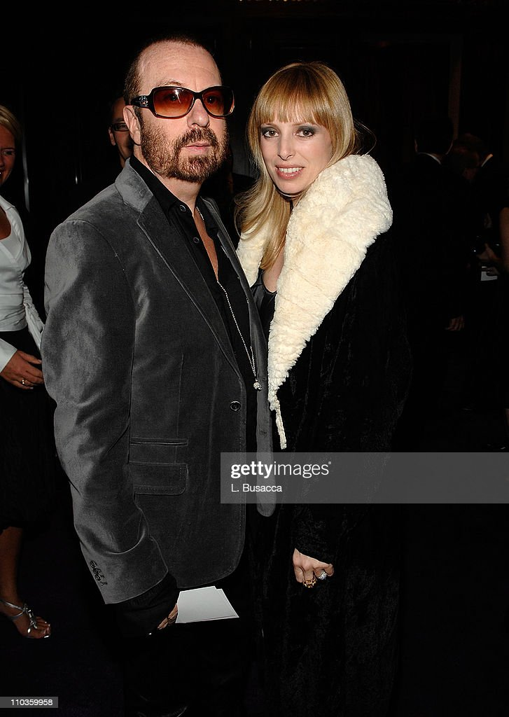 Musician Dave Stewart and Anoushka Fisz attends the 2008 Clive Davis Pre-GRAMMY party at the Beverly Hilton Hotel on February 9, 2008 in Los Angeles, California.