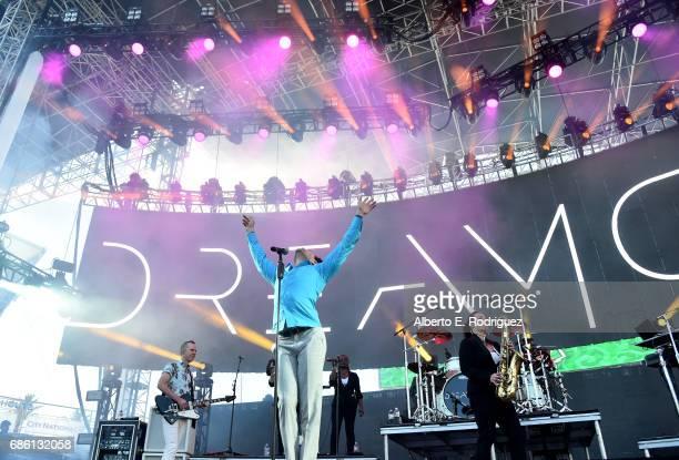 Musician Davey Havok of Dreamcar performs onstage at KROQ Weenie Roast y Fiesta 2017 at StubHub Center on May 20 2017 in Carson California