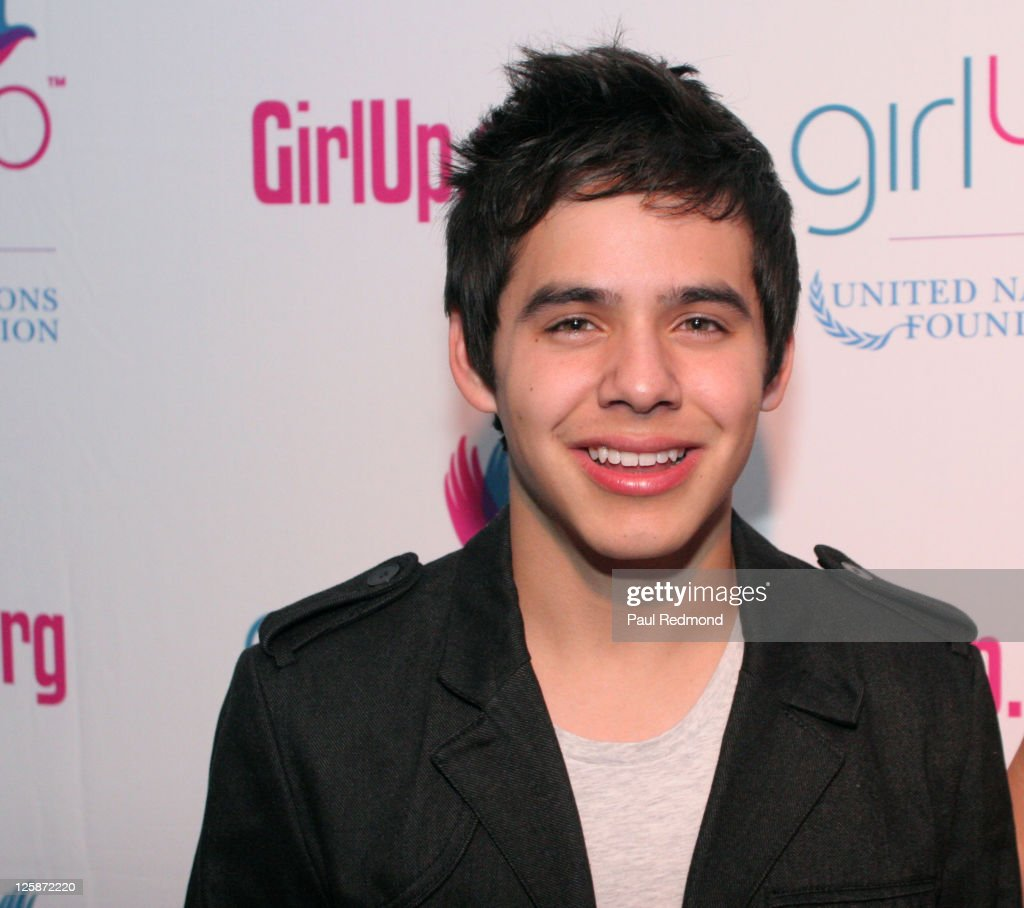 Musician David Archuleta arrives at Variety's Girl Up campaign launch on November 4, 2010 in Los Angeles, California.