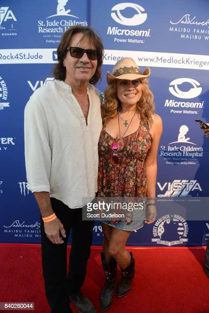 Musician David Brock of the band Wild Child attends the 10th annual Medlock Krieger All Star Concert benefiting St Judes Children's Research Hospital...