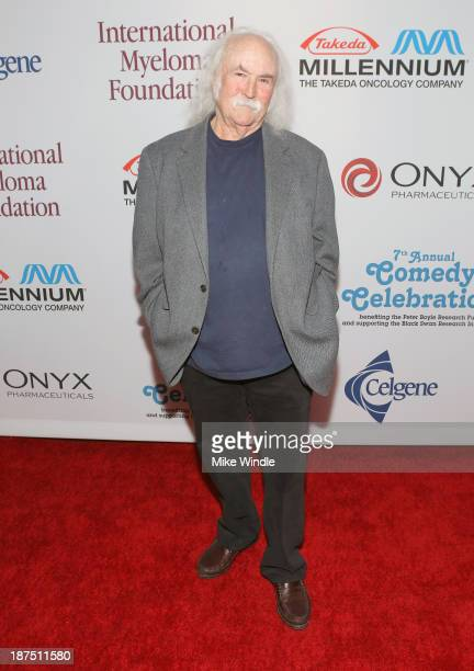 Musician David Crosby attends the International Myeloma Foundation's 7th Annual Comedy Celebration Benefiting The Peter Boyle Research Fund hosted by...