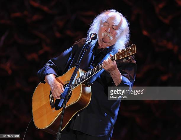 Musician David Crosby performs onstage during the International Myeloma Foundation's 7th Annual Comedy Celebration Benefiting The Peter Boyle...
