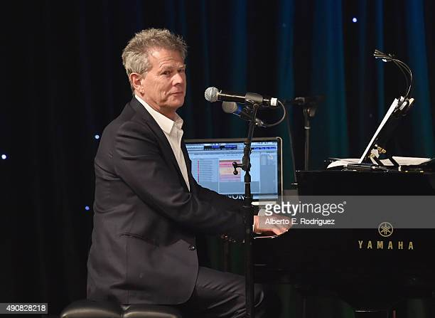 Musician David Foster attends the 2015 LA's Promise Gala at Universal Studios Hollywood on September 30 2015 in Universal City California