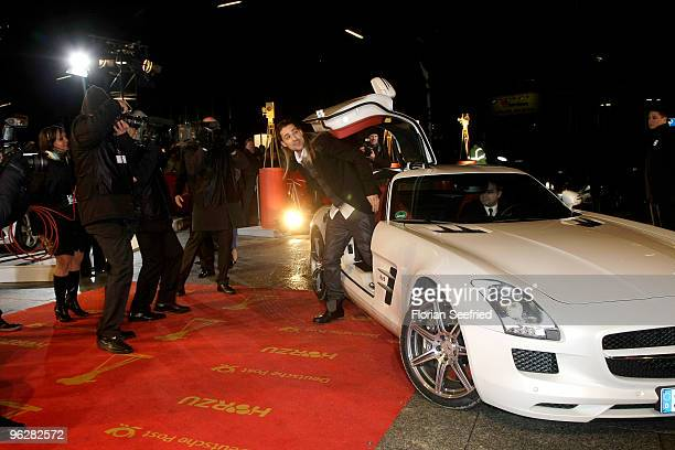 Musician David Garrett attends the Goldene Kamera 2010 Award at the Axel Springer Verlag on January 30 2010 in Berlin Germany