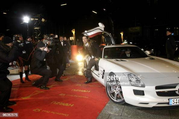 Musician David Garrett attends the Goldene Kamera 2010 Award at the Axel Springer Verlag on January 30 2010 in Berlin Germany