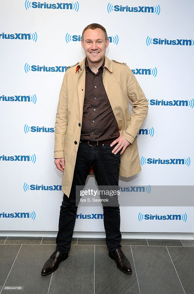 Musician David Gray visits the SiriusXM Studios on June 11, 2014 in New York City.