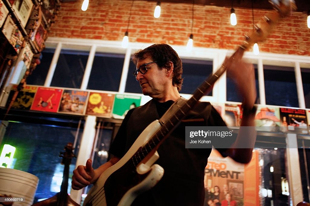 Musician David Schwartz performs live during the Album Release Party For Music And Songs From 'Arrested Development' at The Record Parlour on November 19, 2013 in Hollywood, California.