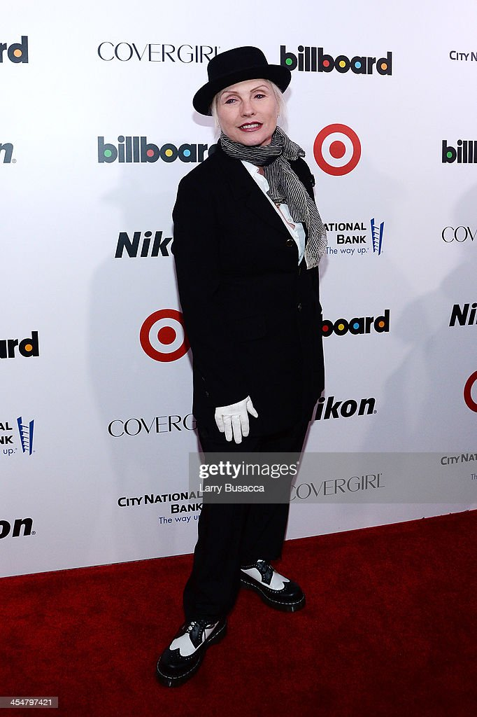 Musician <a gi-track='captionPersonalityLinkClicked' href=/galleries/search?phrase=Debbie+Harry&family=editorial&specificpeople=209145 ng-click='$event.stopPropagation()'>Debbie Harry</a> of Blondie attends Billboard's annual Women in Music event at Capitale on December 10, 2013 in New York City.