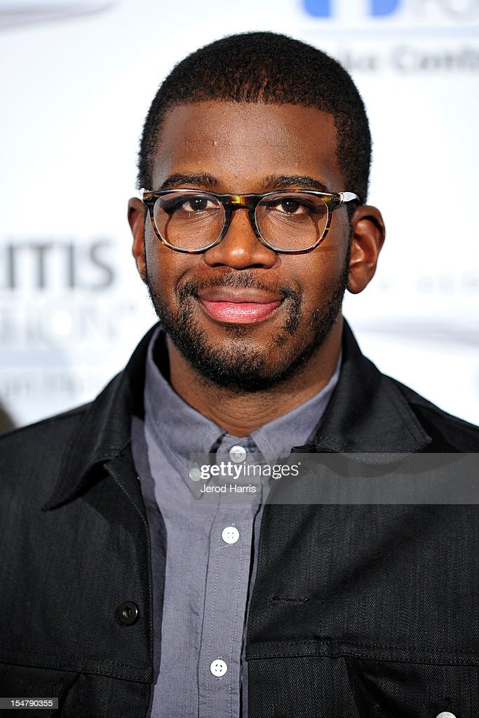 Musician De'Mar Hamilton arrives at the Arthritis Foundation's annual gala at The Beverly Hilton Hotel on October 25, 2012 in Beverly Hills, California.