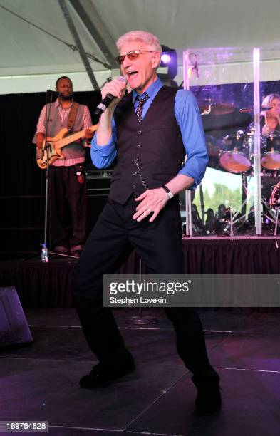 Musician Dennis DeYoung formerly of the band Styx performs at the Best Buddies Challenge Hyannis Port Finish Line and Victory Celebration Party on...