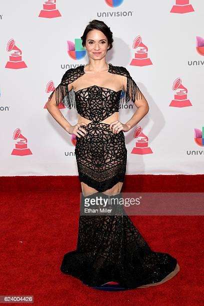 Musician Diana Fuentes attends The 17th Annual Latin Grammy Awards at TMobile Arena on November 17 2016 in Las Vegas Nevada