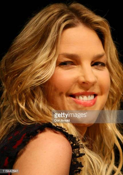 Musician Diana Krall performs on stage in concert at Sydney Entertainment Centre on March 4 2010 in Sydney Australia