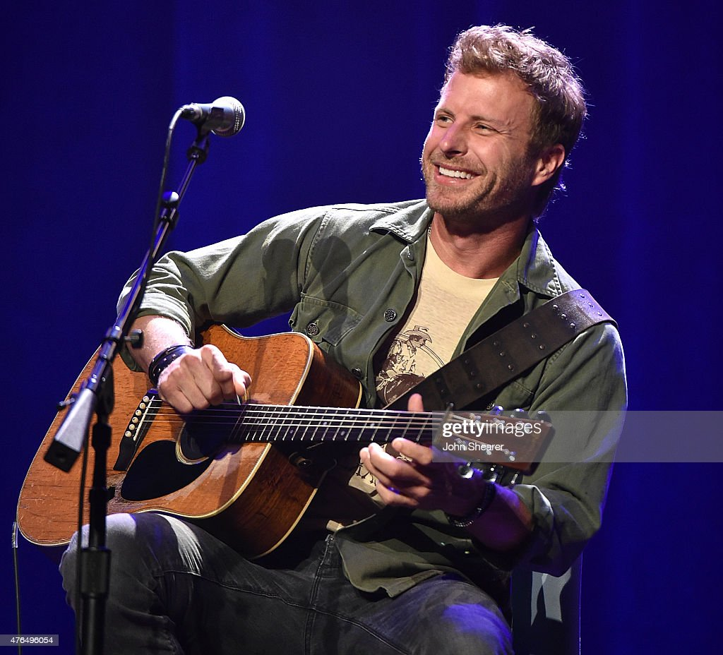 Musician Dierks Bentley performs at the 'Stars For Second Harvest Benefit' at the Ryman Auditorium on June 9 2015 in Nashville Tennessee