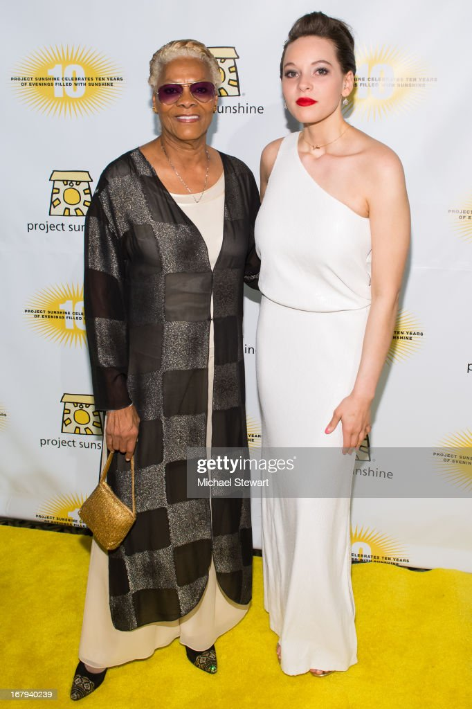 Musician <a gi-track='captionPersonalityLinkClicked' href=/galleries/search?phrase=Dionne+Warwick&family=editorial&specificpeople=213111 ng-click='$event.stopPropagation()'>Dionne Warwick</a> (L) and Cheyenne Elliott attend the 10th Annual Project Sunshine Benefit at Cipriani 42nd Street on May 2, 2013 in New York City.