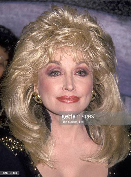 Musician Dolly Parton attends the Grand Opening Celebration and Ribbon Cutting to Unveil the New Sony Music Recording Arts Complex on May 10 1993 at...