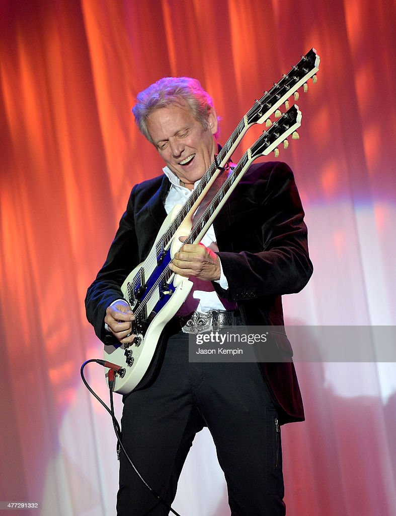 Musician <a gi-track='captionPersonalityLinkClicked' href=/galleries/search?phrase=Don+Felder&family=editorial&specificpeople=640659 ng-click='$event.stopPropagation()'>Don Felder</a> performs at Phoenix House's 12th Annual Triumph For Teens Awards Gala at the Montage Beverly Hills on June 15, 2015 in Beverly Hills, California.