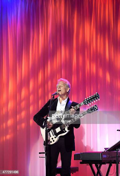 Musician Don Felder performs at Phoenix House's 12th Annual Triumph For Teens Awards Gala at the Montage Beverly Hills on June 15 2015 in Beverly...