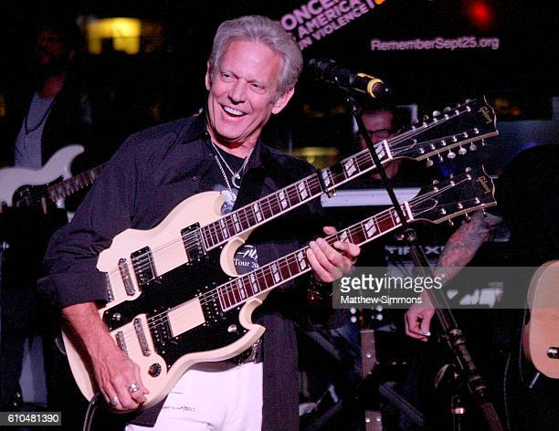Musician Don Felder performs onstage during The Concert Across America To End Gun Violence at The Standard Hotel on September 25 2016 in Los Angeles...